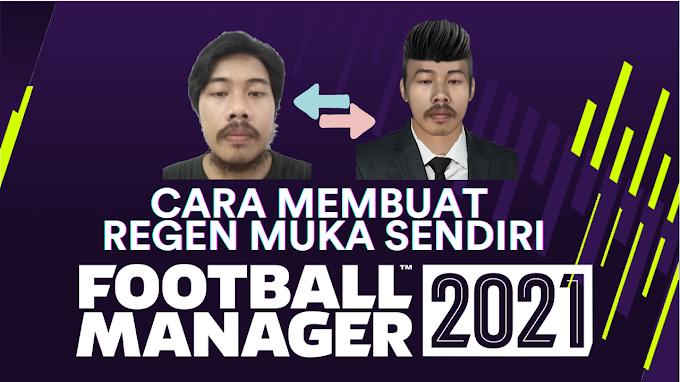 Cara Membuat Wajah Regen di Football Manager 2021
