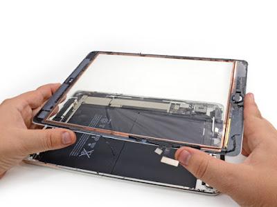 thay mới mặt kính máy tính bảng ipad 2