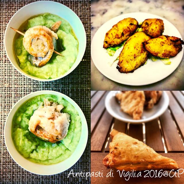 panzarotti di nasello e ricotta, purea di broccoli e involtini di nasello, crocchette di nasello cuoca a tempo perso alessandra ruggeri