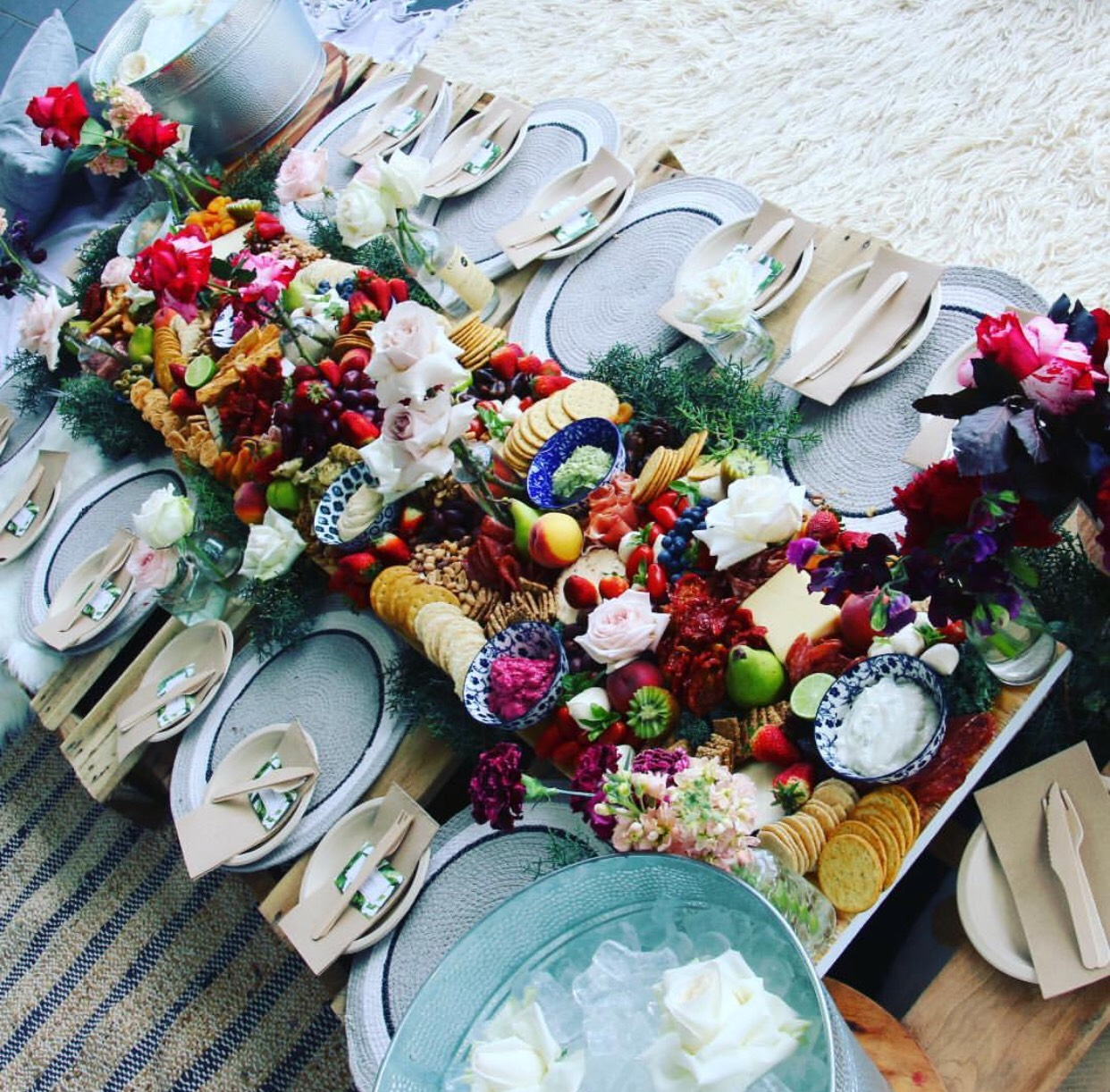 NORTHERN BEACHES SYDNEY WEDDING GRAZING TABLE PLATTER CATERING
