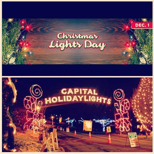 National Christmas Lights Day Wishes Pics