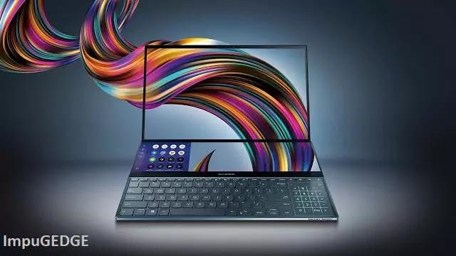 ASUS Zenbook Pro Duo Laptop Screen, Screenpad and design