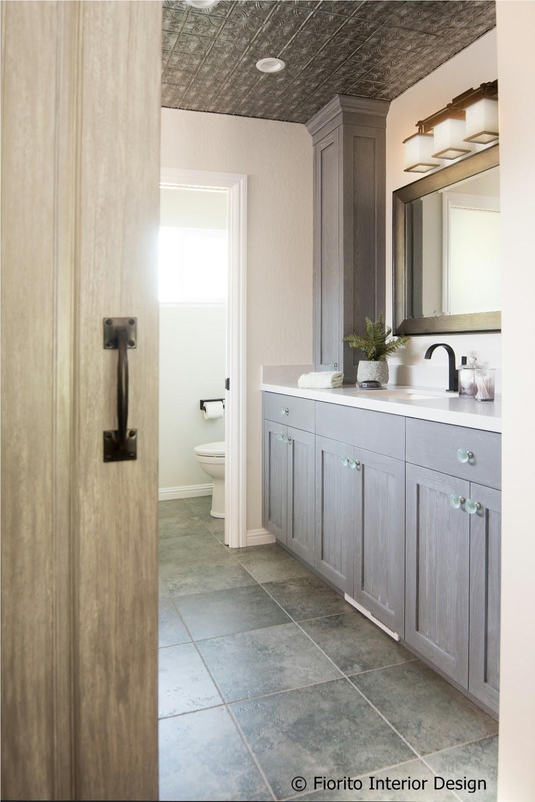 Fiorito Interior Design: Rustic, Modern Master Bathroom by Fiorito ...