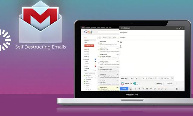 كيف تقوم بإضافة خاصية التراجع عن الإرسال و التدمير الذاتي للإيميلات في جيميل Gmail