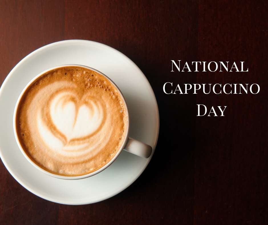 National Cappuccino Day Wishes Unique Image
