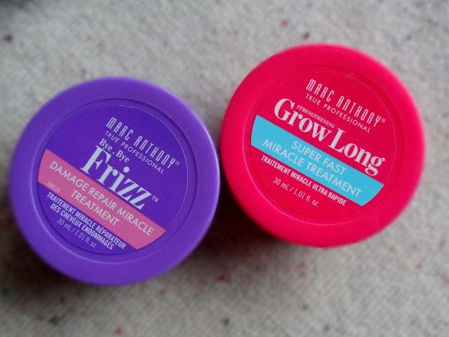 Marc Anthony Bye Bye Frizz and Grow Long Treatments