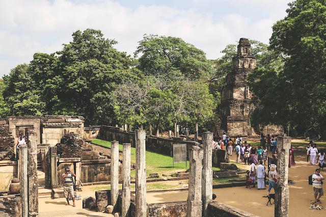Polonnaruwa Sri Lanka Temple