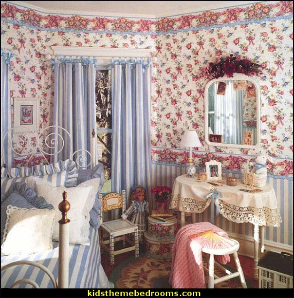 Victorian Style Decor Victorian Decorating ideas - girls bedroom Vintage decorating - Victorian Boudoir girls rooms