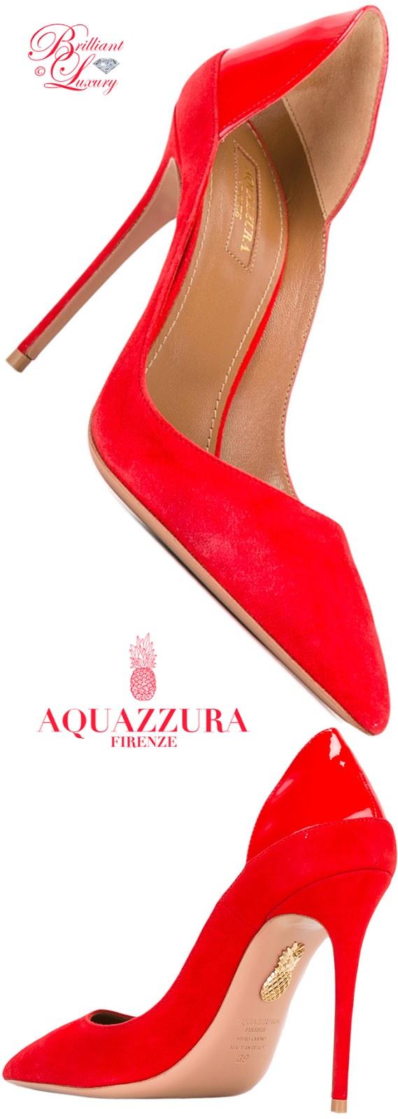 Brilliant Luxury ♦ Aquazzura Fellini Pumps