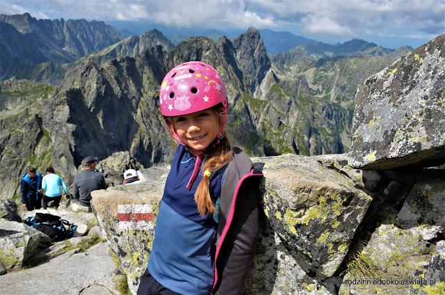 Tatry z dzieckiem- Rysy od słowackiej strony