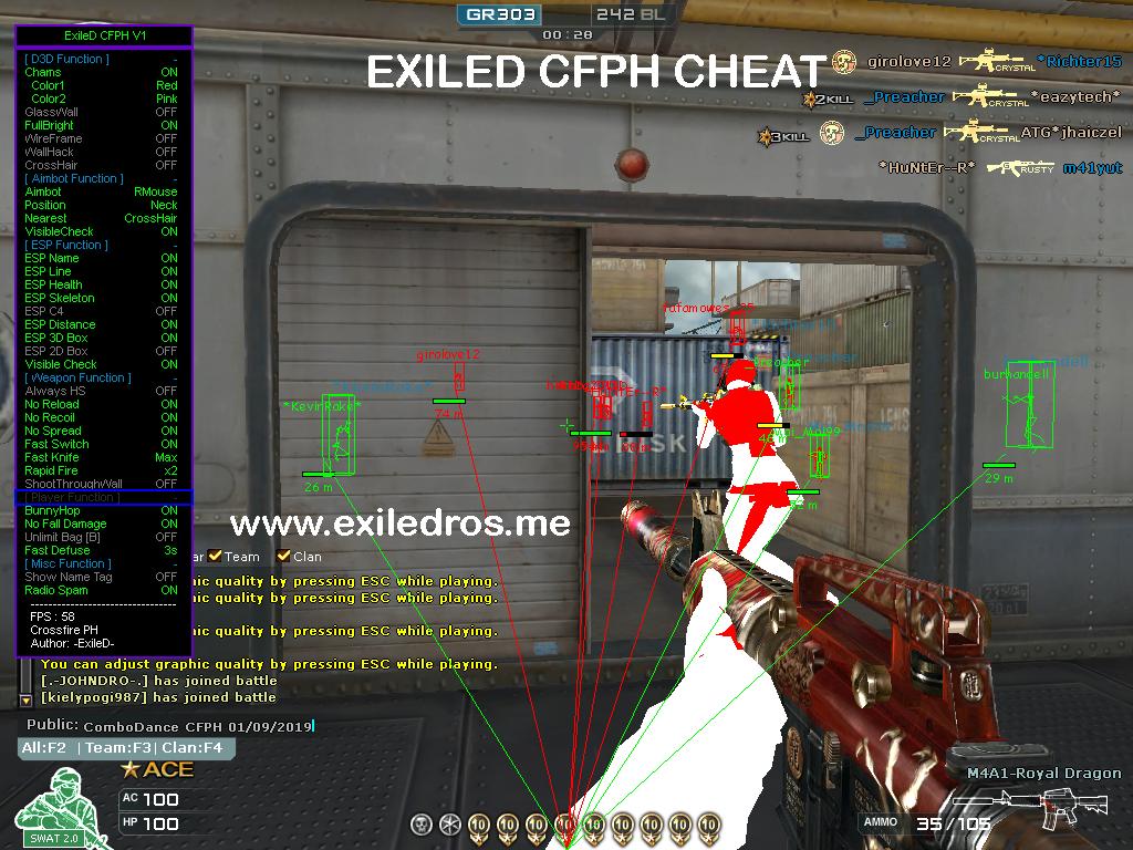 cross fire wallhack