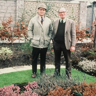 Jim McColl and George Barron