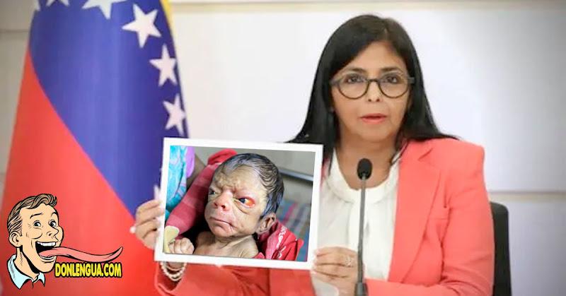 Delcy Rodriguez habría quedado embarazada en zona de tránsito de Barajas