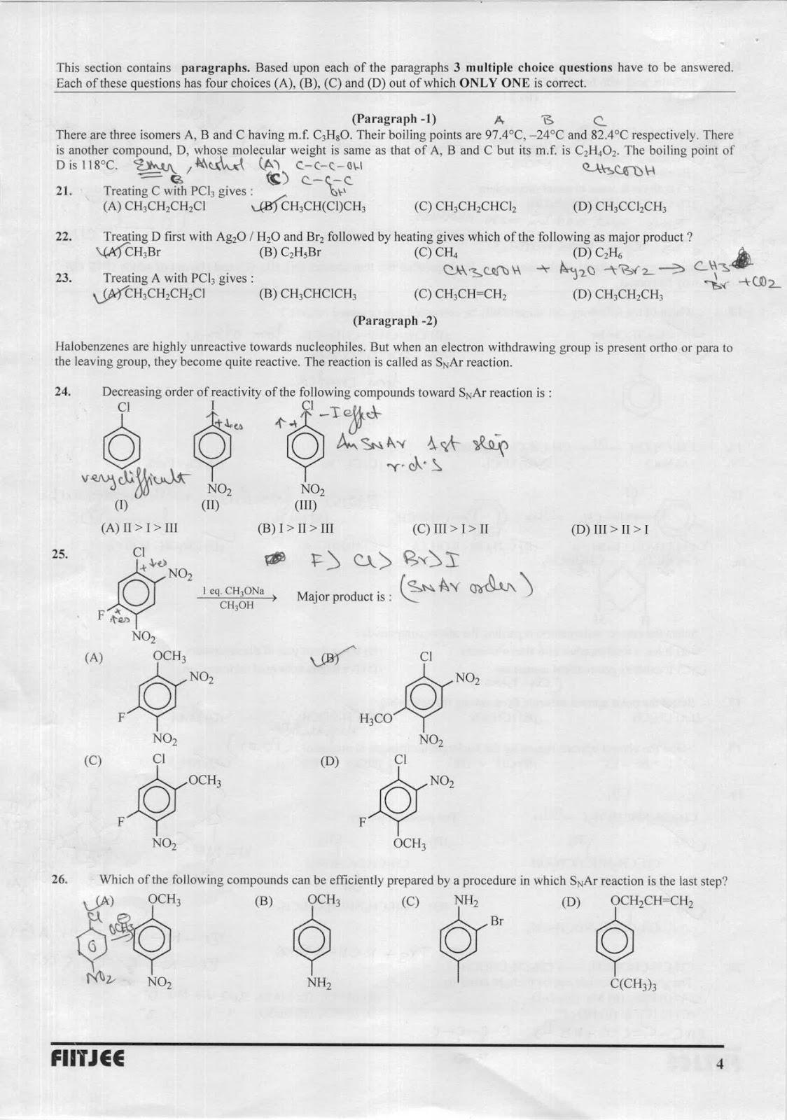 IITJEE Chemistry by Dhruv kumar Banerjee: KVPY ORGANIC