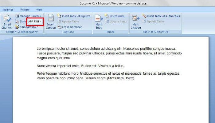 Cara Membuat Kutipan Dan Daftar Pustaka Di Microsoft Word