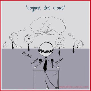 expressions québécoises, cogner des clous, collaboration, AFSL Pro, FLE, le FLE en un 'clic'