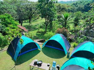 tempat camping bagus di sentul