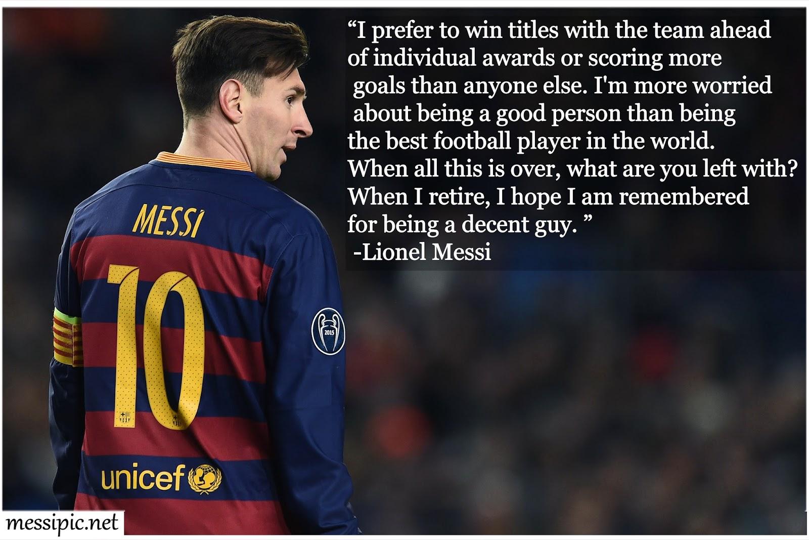 Lionel Messi Quotes On Pictures
