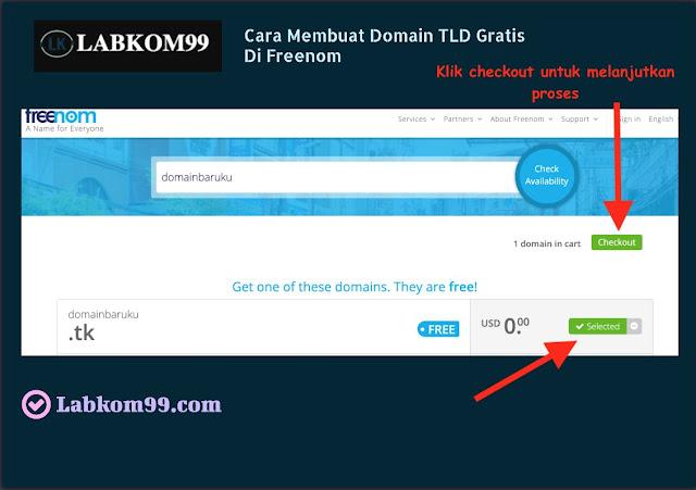 Cara Membuat Domain TLD Gratis Di Freenom