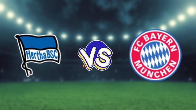 مباراة بايرن ميونخ ضد هيرتا برلين