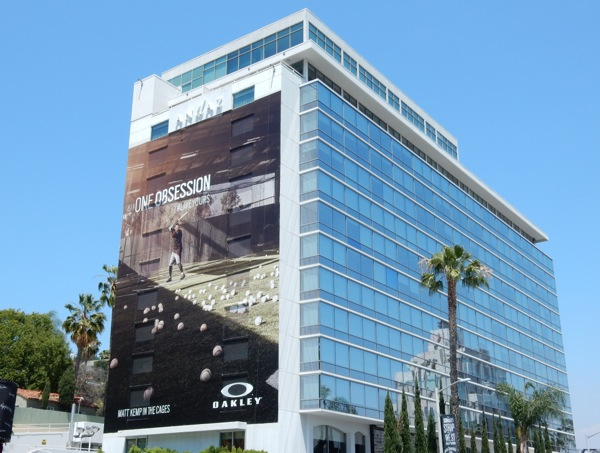 Giant Oakley One Obsession Baseball billboard