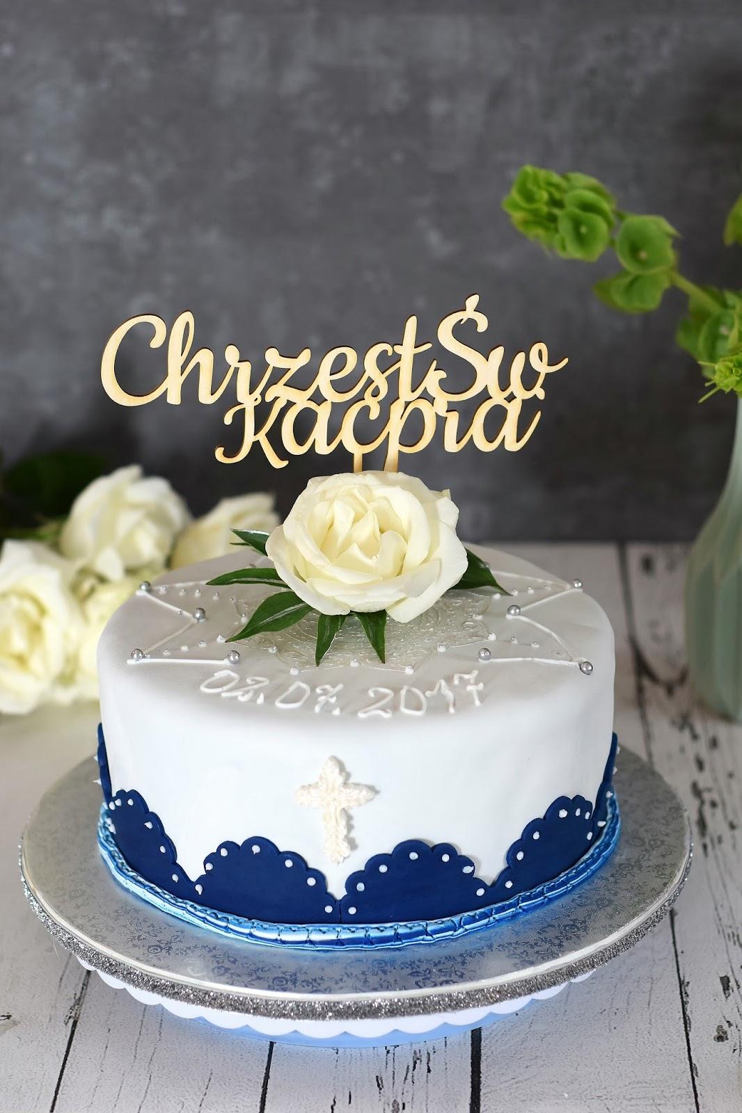 Tort Na Chrzest święty Kulinaria Zblogowani