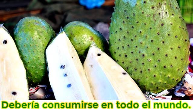 El consumo diario de guanábana para mejorar la salud