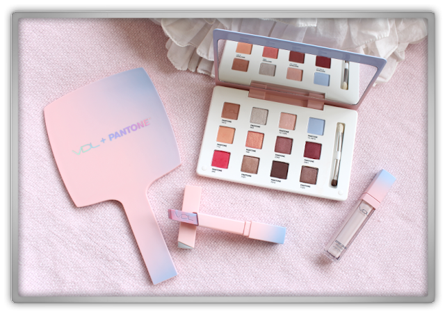 VDL Pantone 2016 Expert color eye book 6.4 No.5 lip cube tranquility 01 serenity rose quartz primer for eyes mirror Haul Review