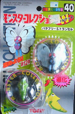 Butterfree Pokemon figure Tomy Monster Collection series