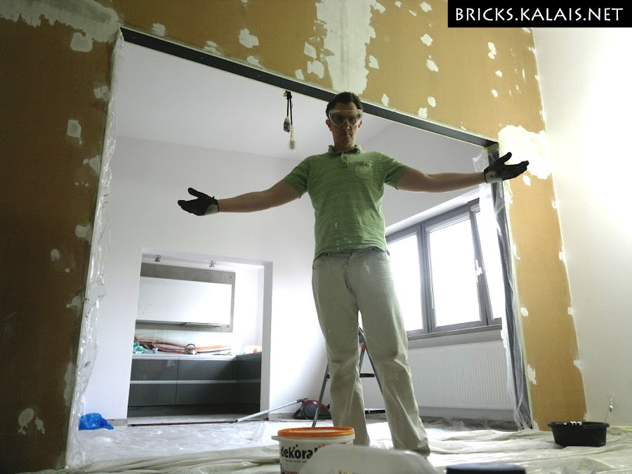 6. Kalais in full glory :D Making the studio!
