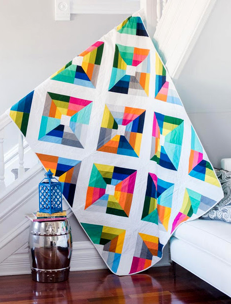 Janice's Kite Flight Quilt Free Pattern