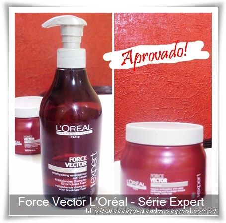 Shampoo e Máscara Force Vector L'Oreal