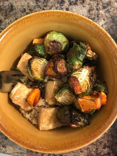 roasted vegetable harvest bowl