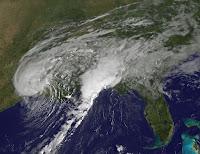 Tropical Storm Harvey seen by NOAA's GOES East satellite