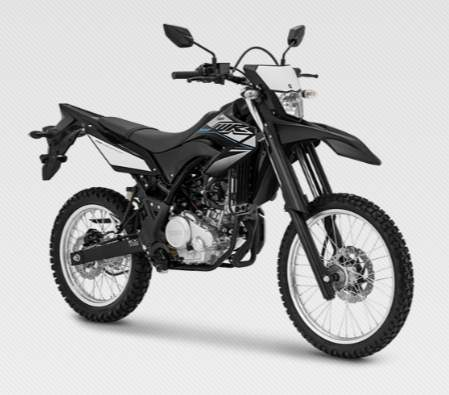 WR150R pilihan warna Yamaha Hitam