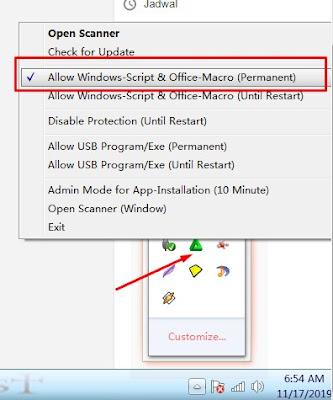 Mengatasi Error Message Windows Script Host Acces is Disabled