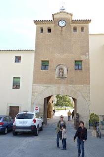 Portal de Entrada del Monasterio de Poblet.
