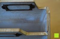 Beschädigung: Eurosell Holz Schreibtischorganizer Brief Post Ablage Briefablage Postablage Briefständer Vintage Retro Design Designer Dokumenten Prospekte Ständer
