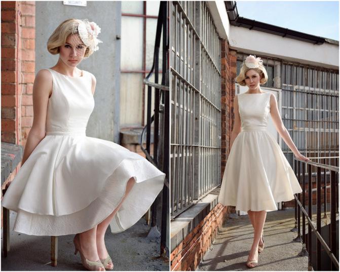 Unbelievable Wedding : Tea Length Wedding Dresses
