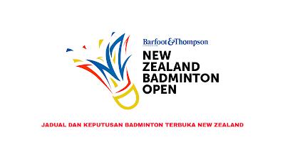 Jadual Badminton Terbuka New Zealand 2020 (Keputusan)