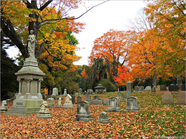 Mount Auburn Cemetery en Cambridge