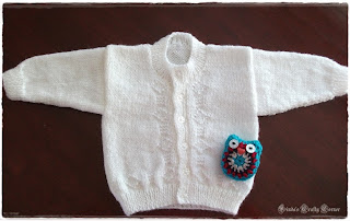 baby sweater-cardigan-knit-easy
