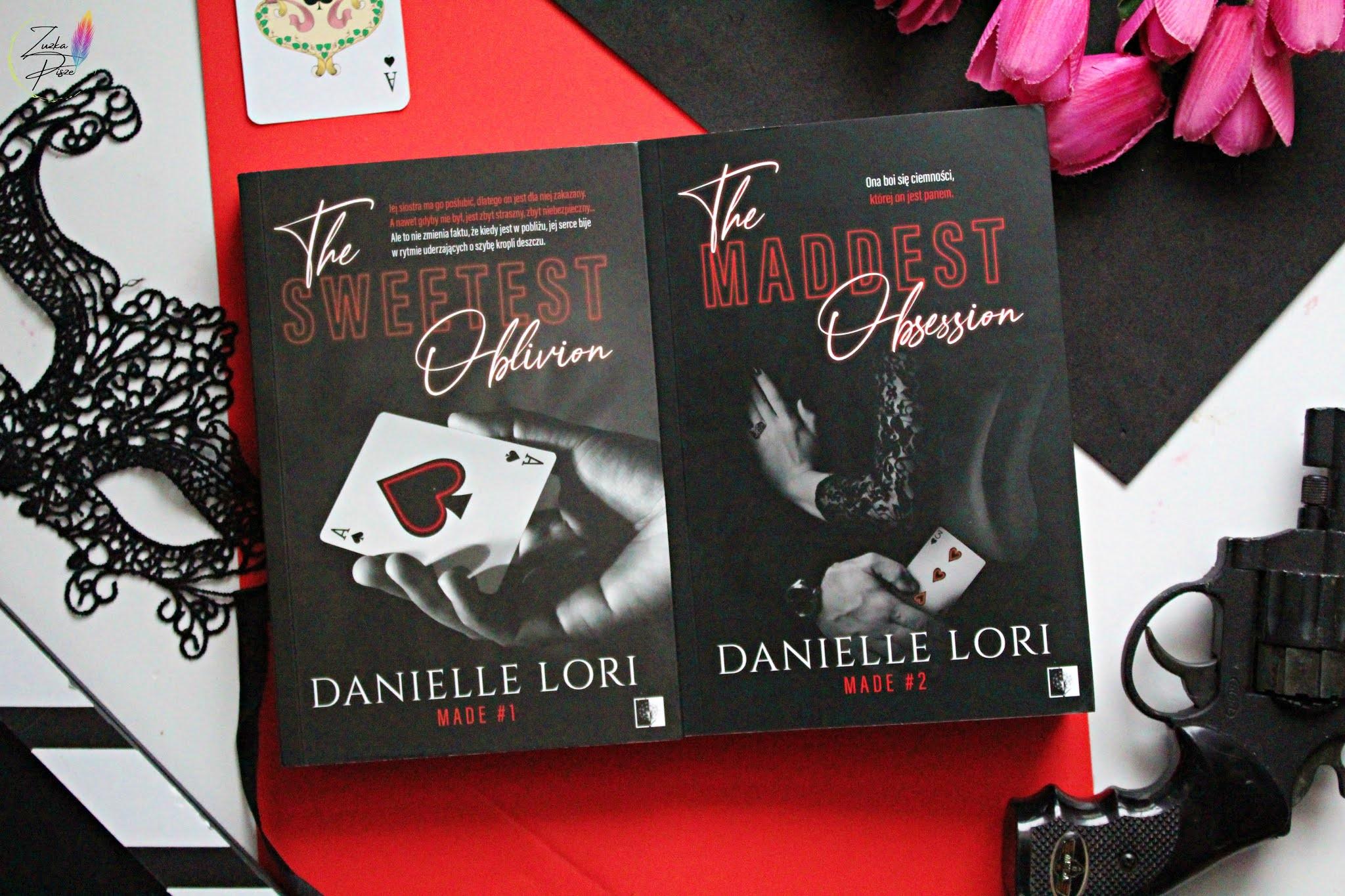 "Danielle Lori ""The Maddest Obsession"" - recenzja patronacka"