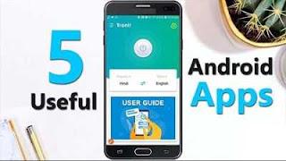 সেরা ৫ টি Android App