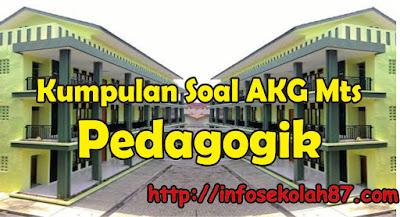 50+ Contoh Soal dan Kunci Jawaban AKG MTs Materi Pedagogik