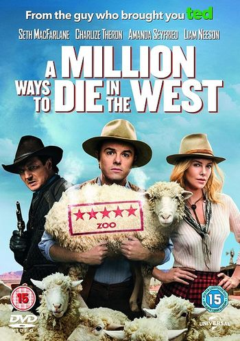 A Million Ways to Die in the West (2014) BluRay Dual Audio [Hindi DD5.1 & English] 1080p 720p 480p x264 HD | Full Movie