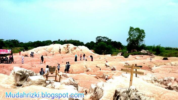 Cadas Putri Tamelang Obyek Wisata Gurun Paling Hits Di