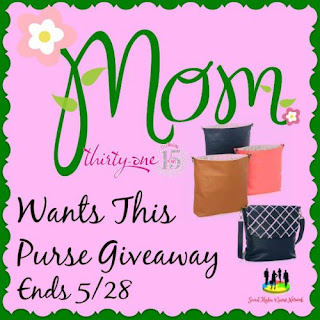 Enter the Mom Wants This Purse Giveaway. Ends 5/28