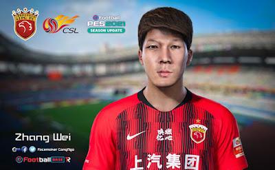 PES 2021 Faces Zhang Wei by CongNgo