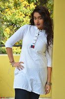 Kiran Chetwani in Denim and White Kurti  Exclusive 009.JPG